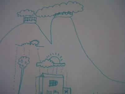 aktivitas sederhana membantu anak memahami bencana gunung berapi meletus erupsi