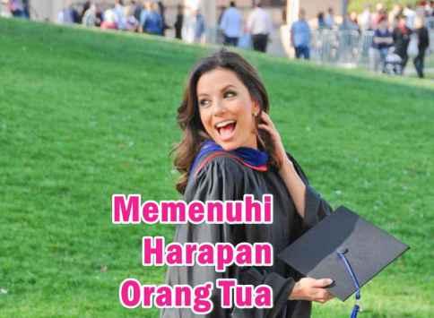 dilema memenuhi harapan ibu bapak-lulus kuliah-bekerja